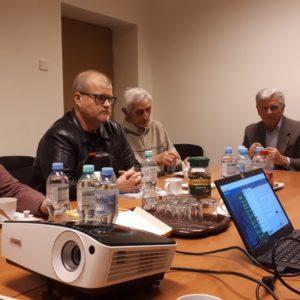 Marcin Placek nowy dyrektor MDK Ligota (pierwszy z prawej)